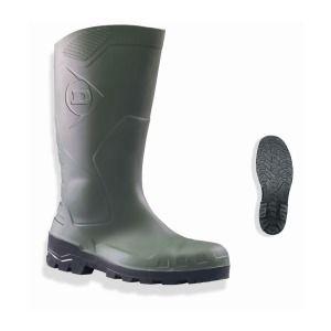 Dunlop Bottes Devon Safety vert taille 44 : euro protection 9DESA44