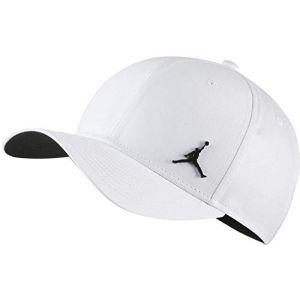 Nike Casquette Jordan Classic99 Metal Jumpman Blanc