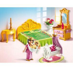 Playmobil 5146 - Chambre de la reine avec berceau
