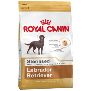 Royal Canin Labrador Retriever Adult stérilisé - Sac de 12 kg (Maxi Breed)