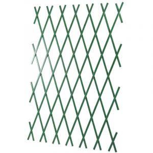 Treillis 1x2m extensible vert en PVC