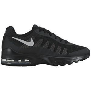 Nike Air Max Invigor GS, Chaussures de Running Mixte Enfant, Noir (Black/Wolf Grey), 38.5 EU