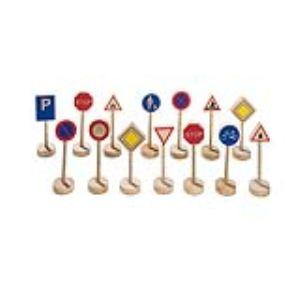 Goki WM 397 - Assortiment de panneaux de signalisation I