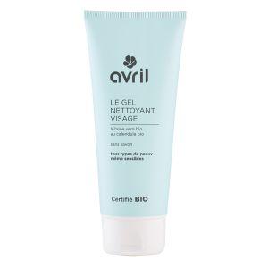 Avril Le Gel nettoyant visage à l'Aloé Vera Certifié Bio
