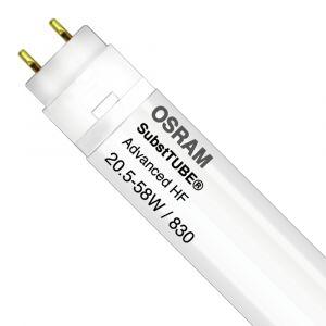 Ledvance Osram SubstiTUBE Advanced HF 20.5W 830 150cm | Blanc Chaud - Substitut 58W