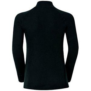 Odlo Vêtements intérieurs Shirt L/s Turtle Neck Warm Kids - Black - Taille 116