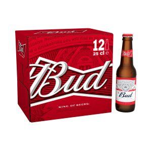 Image de Budweiser Bud 12x25 cl