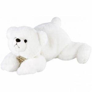 Histoire d'ours Peluche Ours polaire Douceur 30 cm