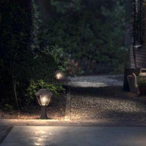 Philips MyGarden Lampe sur pied Curassow 1x42 W brun brossé 1738743PN