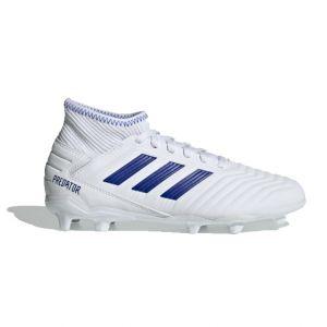 Adidas Predator 19.3 FG J, Chaussures de Football Mixte Enfant, Multicolore (FTW Bla Azufue 000), 38 EU
