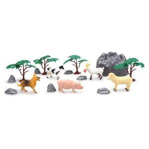 LGRI Set de jeu animaux de la ferme