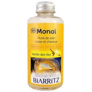 Laboratoires de Biarritz Huile soin corps/cheveux au monoï et vanille des îles