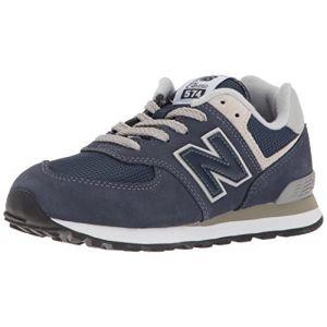 New Balance Pc574v1, Basses Mixte Enfant - Bleu (Navy), 32 EU (13 UK)