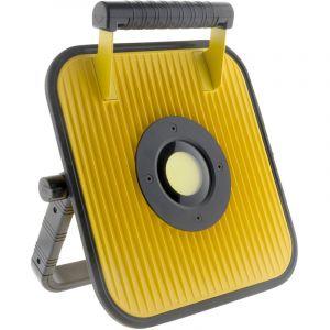 Elexity Projecteur LED 50W à batterie pour chantier avec haut parleur et bluetooth - IP54