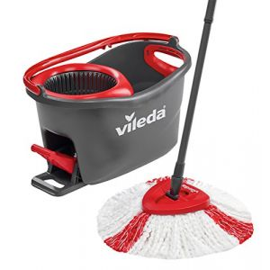 Vileda Easy Wring/Clean Turbo Set Balai avec Seau + 1 Recharge