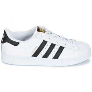 Adidas Baskets basses enfant SUPERSTAR Blanc - Taille 28,29,30,31,32,30 1/2
