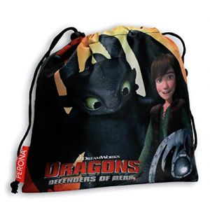 Image de Sac cordon gymnastique Dragons
