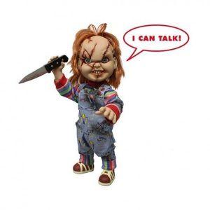 Mezco Figurine Mega Scale Chucky Scared - 38 cm