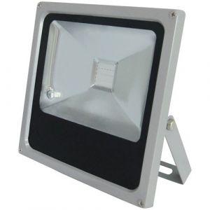 Profile Projecteur LED RDB carré à poser - 20 W - gris - Eclairage extérieur