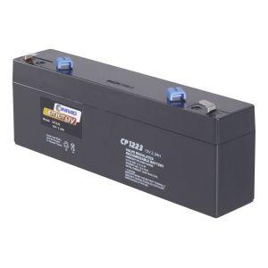 Batterie au plomb 12 V 2 3 Ah Conrad energy CE12V/2,3Ah plomb (AGM) (l x h x p) 177 x 60 x 34 mm connecteur plat 4,8 mm sans entretien