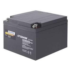 Batterie au plomb 12 V 24 Ah Conrad energy CE12V/24Ah plomb (AGM) (l x h x p) 175 x 125 x 167 mm raccord à vis M5 sans entretien