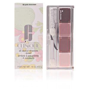 Clinique All about shadow quad 06 Pink Chocolate - Ombre à paupières 4 couleurs