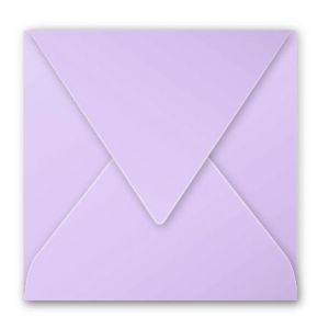 Pollen 5188C - Enveloppe 140x140, 120 g/m², coloris glycine, en paquet cellophané de 20