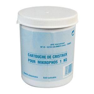 Apic Cristaux polyphosphate 15/30 - Cartouche de 1 kg - Mikrophos