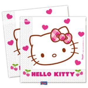 Serviette Hello Kitty Cherry (33 x 33 cm)