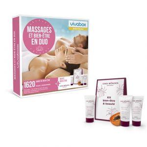 Vivabox Coffret cadeau - Massages et bien-être en duo