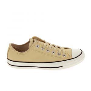 Converse Chaussures All Star B Cuir Crème Marron - Taille 36,37,38