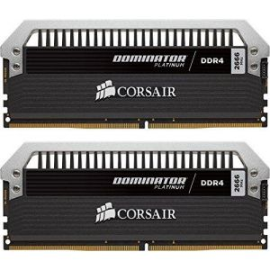 Corsair CMD16GX4M2B3200C16 - Barrette mémoire Dominator Platinum 16 Go (2x 8 Go) DDR4 3200 MHz CL16