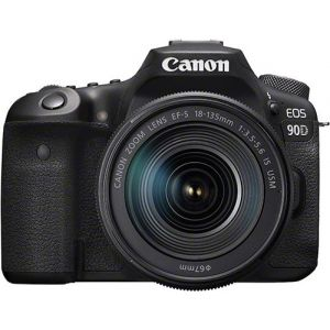 Canon Reflex EOS 90D, Objectif EF-S 18-135 IS USM