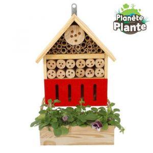 Mgm Hôtel à insectes + jardinière