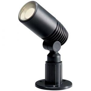 """Perel Garden Lights Projecteur LED """"Alder"""" 2 W anthracite"""