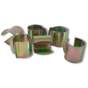 Nortene Lot de 12 Clips de Fixation pour Serre - Diamètre 32 mm