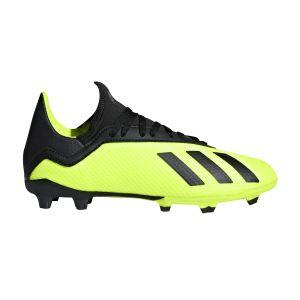 Adidas Chaussures de foot enfant X 18.3 FG J SCARPINI VERDE FLUO vert - Taille 36,38,33,35,36 2/3,37 1/3,38 2/3,35 1/2