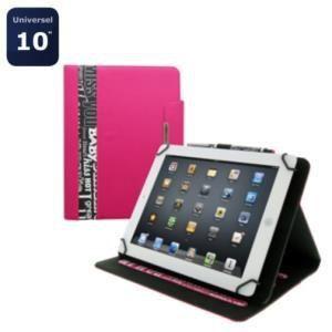 """T'nB BUNTABWORD - Etui Folio universel avec stylet pour tablette 10"""""""