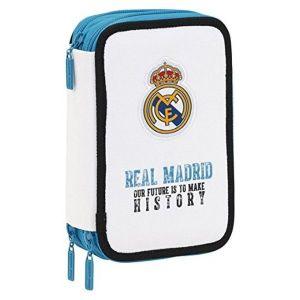 Trousse scolaire FC Real Madrid garnie 41 pièces