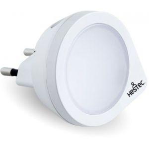 HESTEC - Veilleuse Economique a LED - Pour équiper les pieces de la maison que vous souhaitez éclairer discretement, équipez vous de cette veilleuse électrique. Intelligente, elle est équipée d'un capteur de luminosité qui détecte la luminosité ambiante p