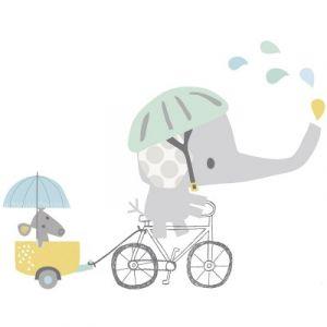 Lilipinso Planche de stickers XL En vélo