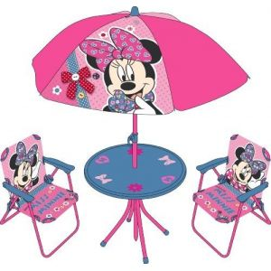 Arditex Wd7525 - Salon de jardin Minnie Mouse