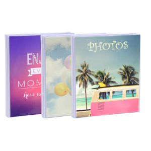 Exacompta 65002E - Album photos fantaisie 13x16cm 24p.