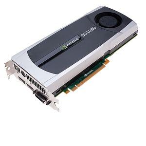PNY VCQ6000-PB - Carte graphique Quadro 6000 6 Go GDDR5 PCI-E 2.0
