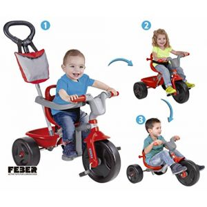 Feber Tricycle évolutif Evo Trike 3x1 Sport