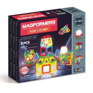 Magformers 709007 Neon LED Ensemble