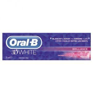 Oral-B 3D White Brilliance - Dentifrice (2 x 75 ml)