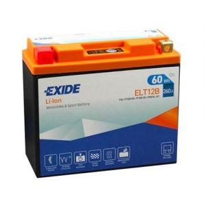 Exide Batterie moto YT12B-BS Lithium Li-ion 12V 5AH 260A ELT12B YT12B-BS YT14B-BS YB16AL-A2