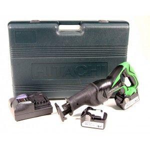 Hitachi CR18DSL - Scie sabre 18V 2x 5.0AH batterie à glissière