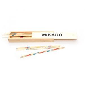 L'arbre à jouer Mikado en bois 18 cm plumier en bois